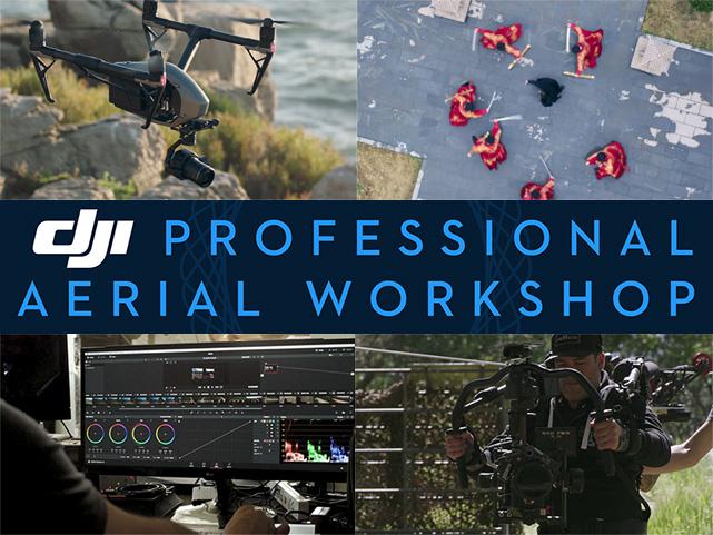DJI、最新の映像撮影を学べるプロ向けワークショップを松竹撮影所で開催