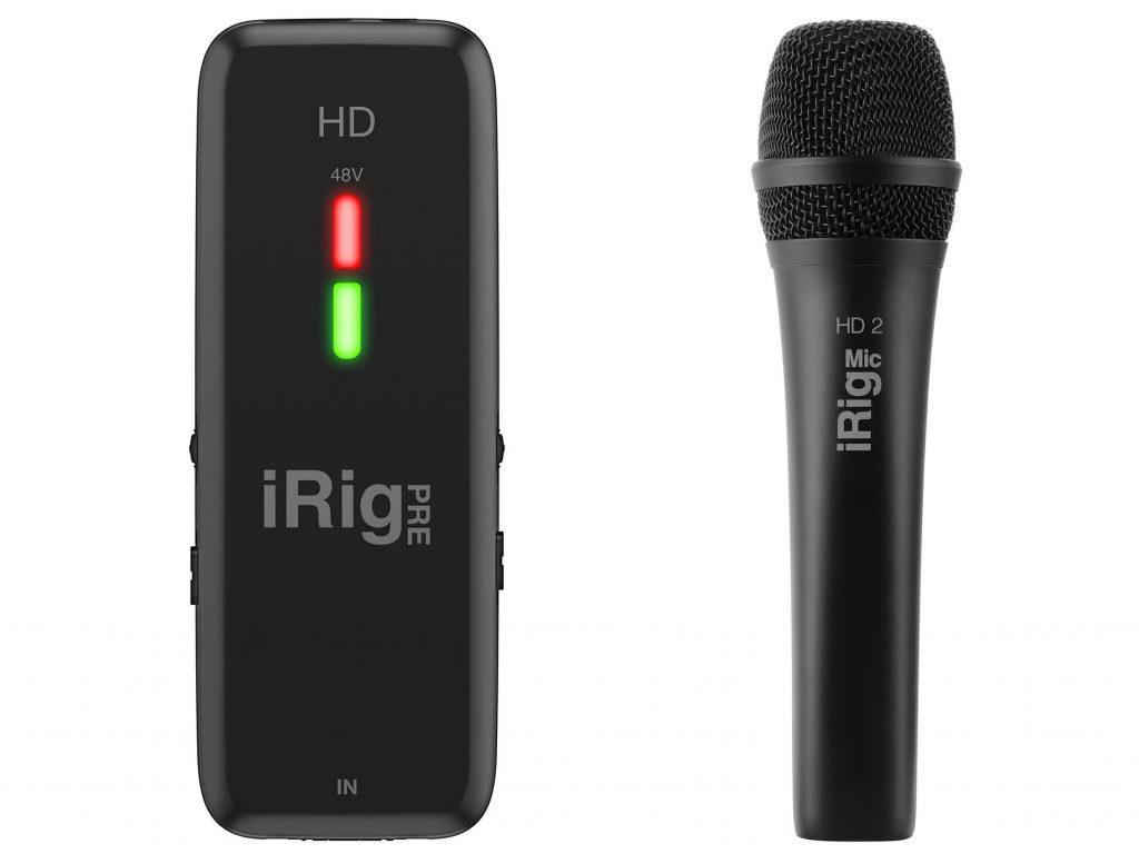フォーカルポイント、マイク収録用I/F・iRig Pre HD とUSBデジタルコンデンサーマイク・iRig Mic HD 2 を発売