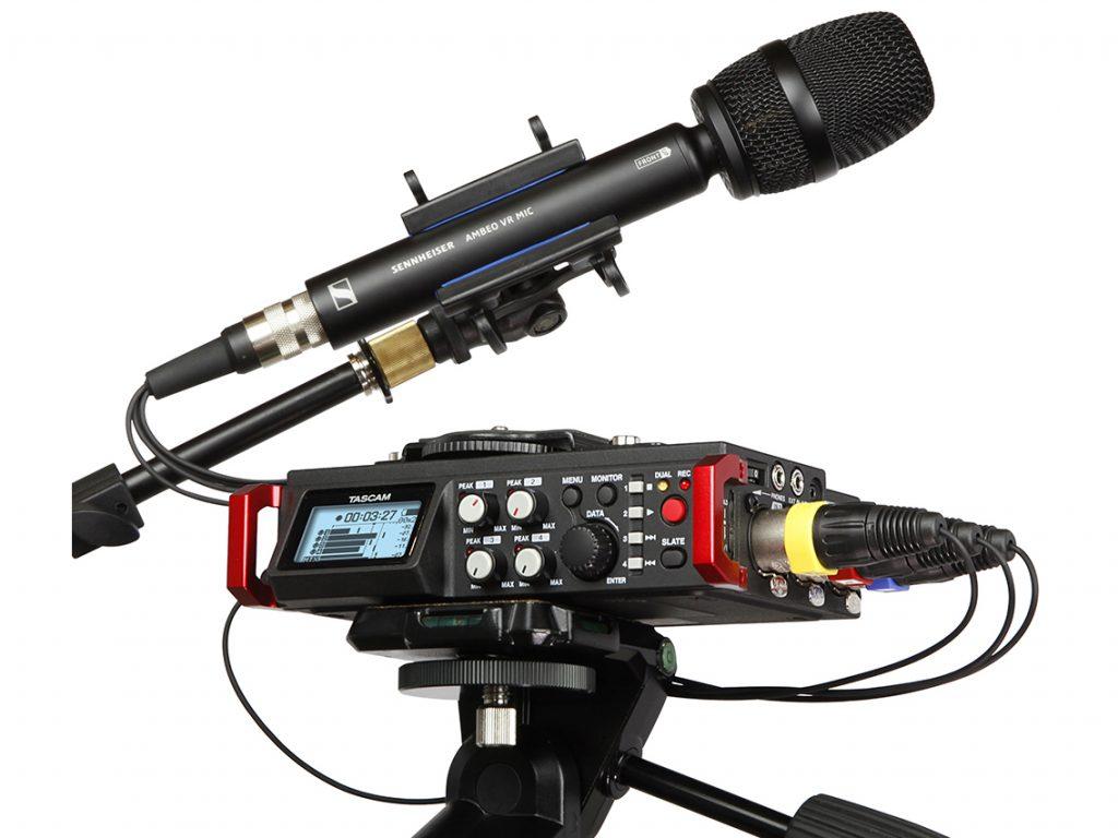ティアック、アンビソニックス音声収録対応の『DR-701D』新ファームウェアを発表