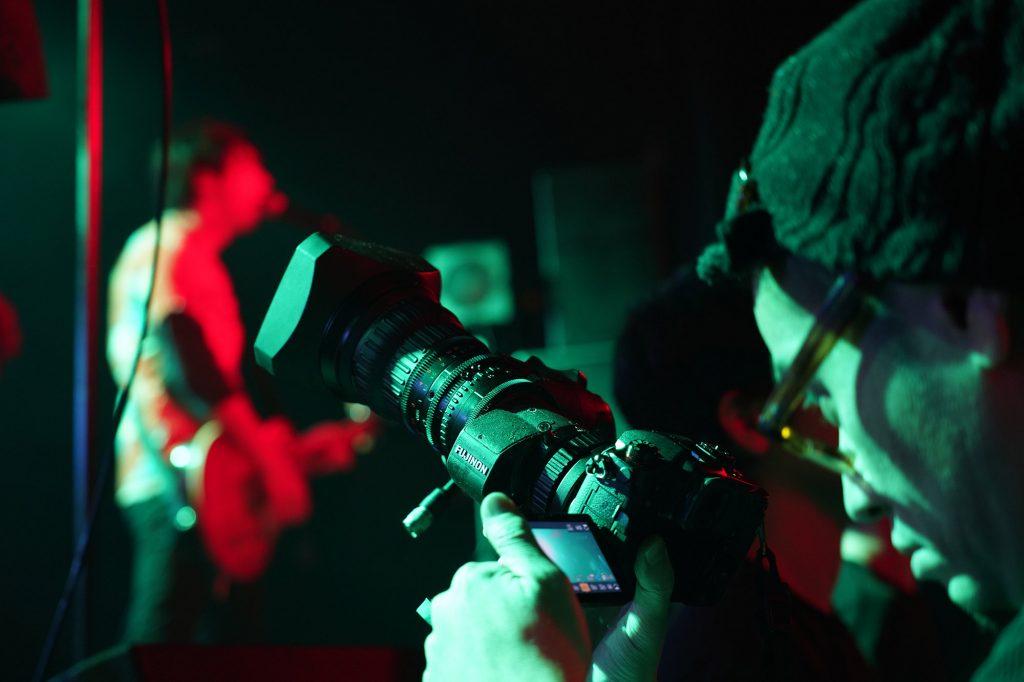 GH5とGH5Sをライブ撮影現場に投入