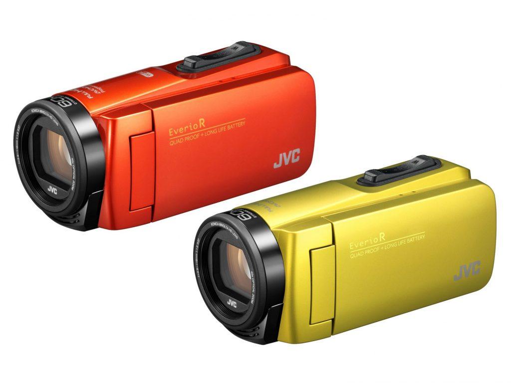 JVCケンウッド、アウトドア撮影向けのハイビジョンビデオカメラ GZ‐RX680 / R480を発売