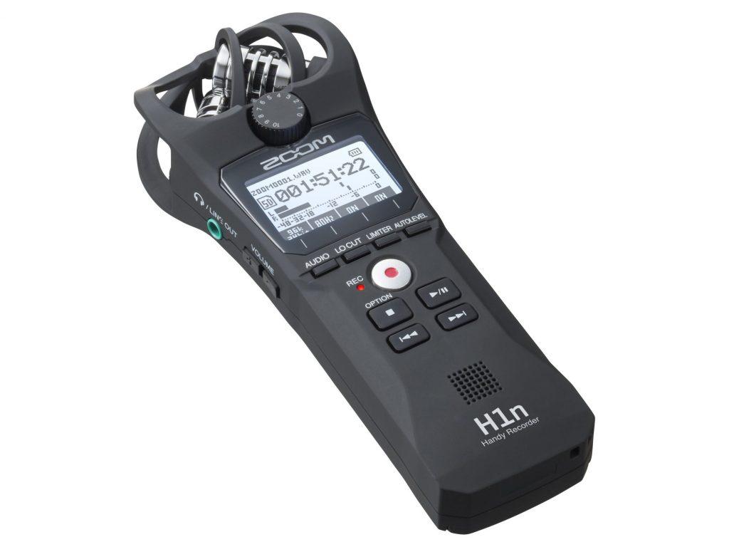 ZOOM、XYステレオマイク搭載のハンディレコーダー H1n を発売