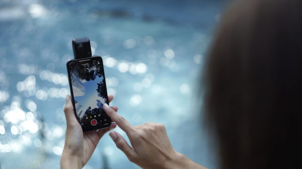 Arashi Vision、360°動画チャット・4K動画・マルチビュー撮影を実現した Insta360 Nano S を発売