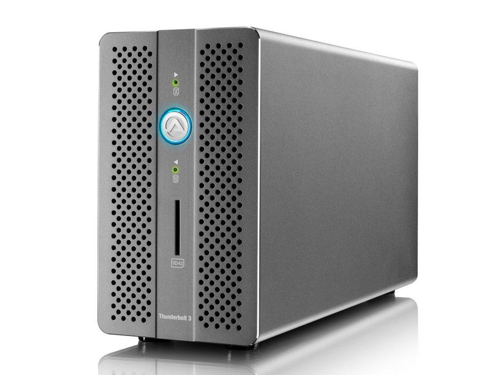 アミュレット、Win/Mac 対応の RAID機能付ドッキングステーション・AKiTiO Thunder3 RAID Station を発売