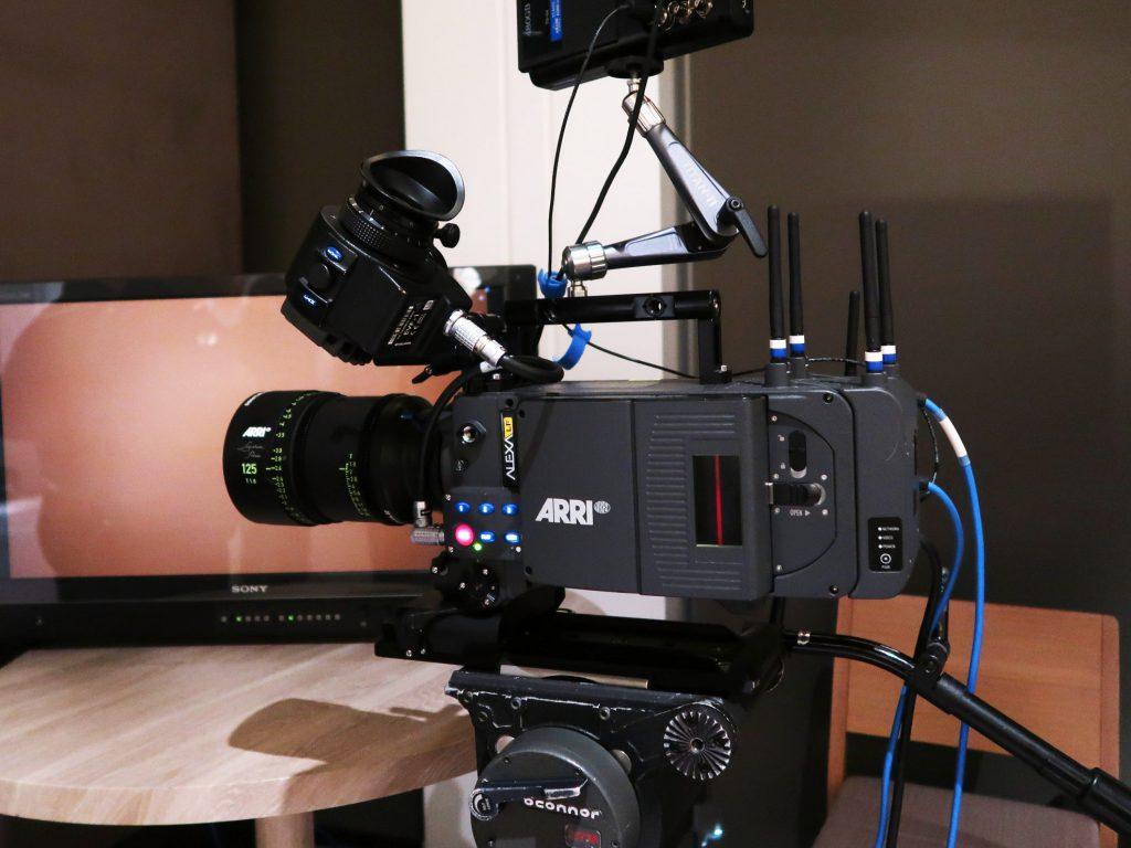 ARRIのラージフォーマットカメラシステム ALEXA LF発表会