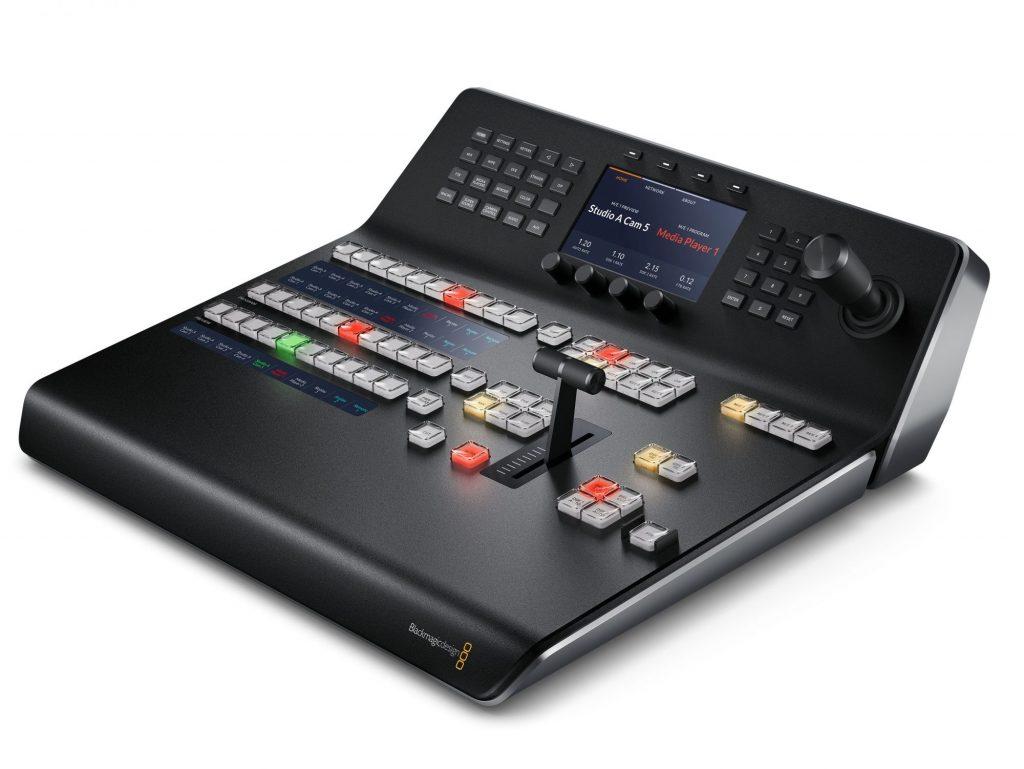 ブラックマジックデザイン、新デザインの小型ハードウェアコントロールパネル・ATEM 1 M/E Advanced Panel を発売