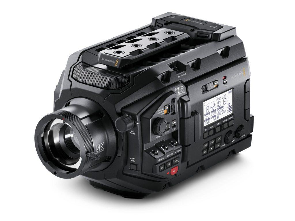 ブラックマジックデザイン、低価格の HD/Ultra HD放送カメラ・URSA Broadcast を発売