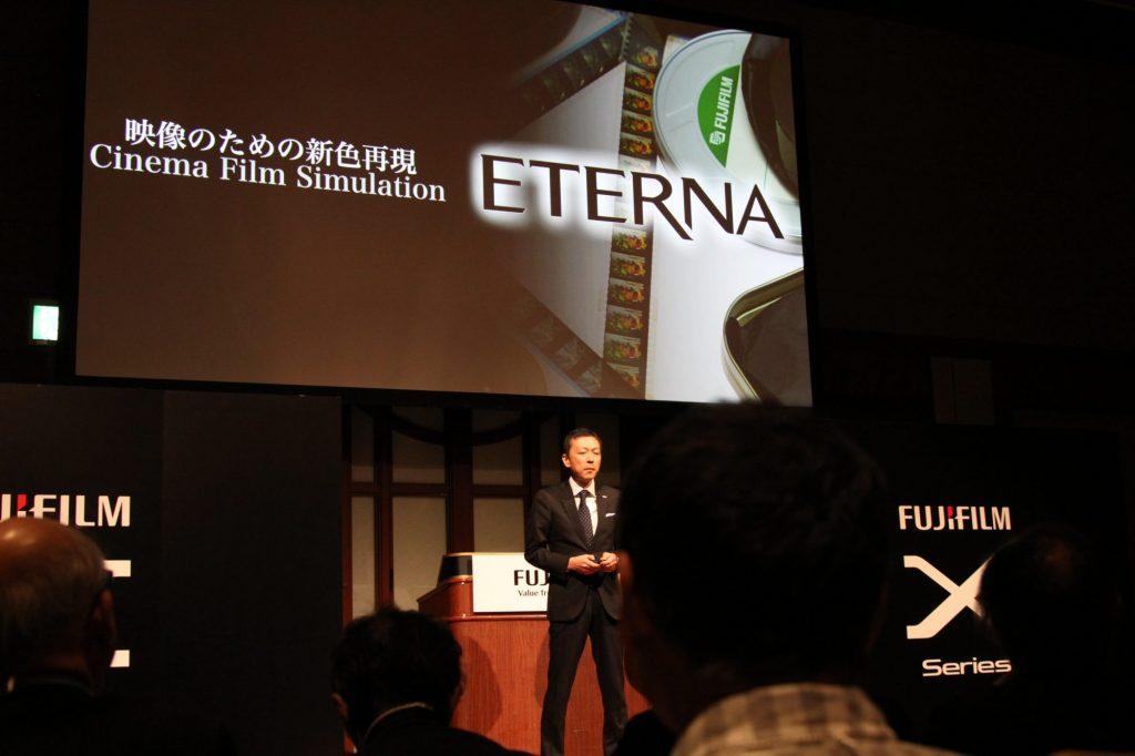 富士フイルム、映画フィルムシミュレーションETERNAとF-Log内部記録を実現した X-H1 を発表