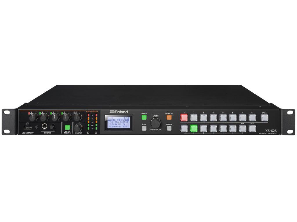 ローランド、1Uサイズのコンパクトビデオスイッチャー・XS-62S を発売