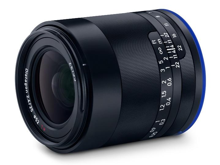 カールツァイス、フルサイズEマウント用交換レンズ・ZEISS Loxia 2.4/25 E-mount を発売