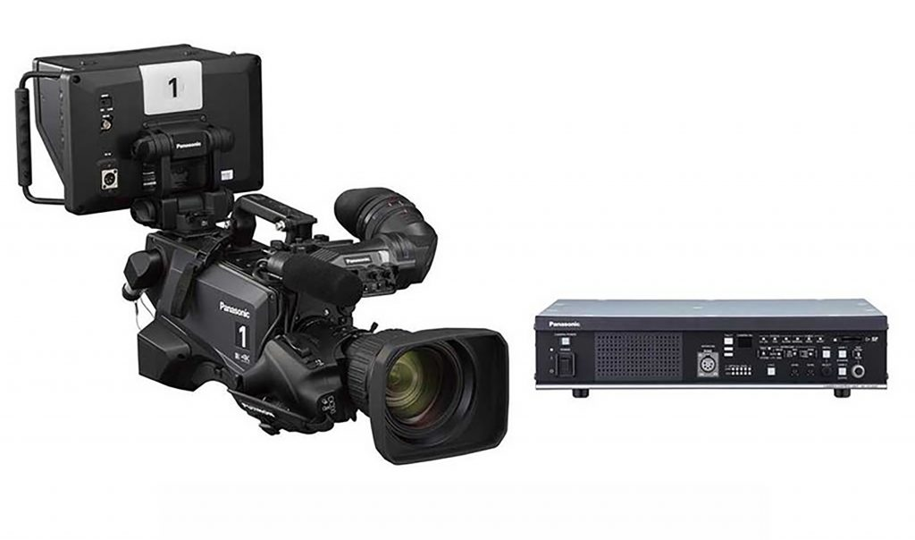 パナソニック、UHD 12G-SDI出力やHDハイスピード撮影に対応した大判4.4Kセンサー搭載の4KスタジオカメラAK-UC4000シリーズを発売
