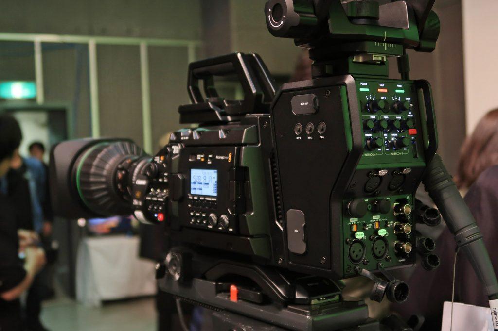 ブラックマジックデザイン、4K/60pのライブプロダクションカメラ、スイッチャーシステムの説明会をパンダスタジオで開催
