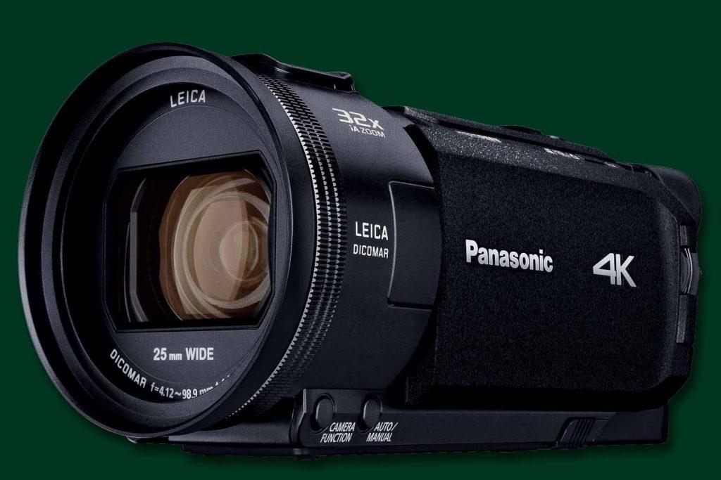 パナソニック、WXF1Mなど4Kビデオカメラ2018年モデル4機種を発表