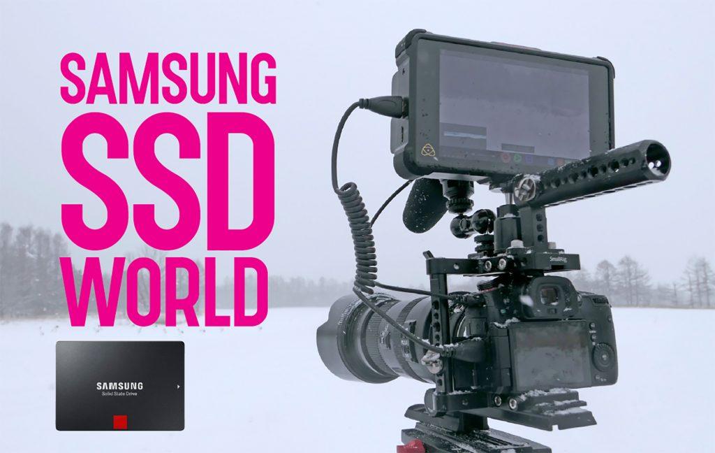 サムスンの最新SSD 860 PROをGH5SとNINJA INFERNOで極寒の北海道で使ってみた