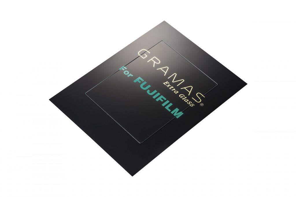 銀一、最強クラスの硬度と透明度を誇る保護ガラス「GRAMAS」のFUJIFILM X-H1用を発表