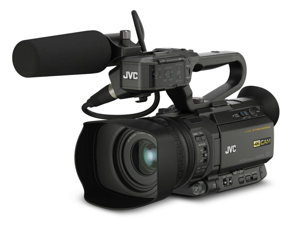 JVC、ブロードキャストオーバーレイ機能など、ライブ配信における各種ネットワーク機能を強化した業務用4Kメモリーカードカメラレコーダー「GY-HM250」を発売