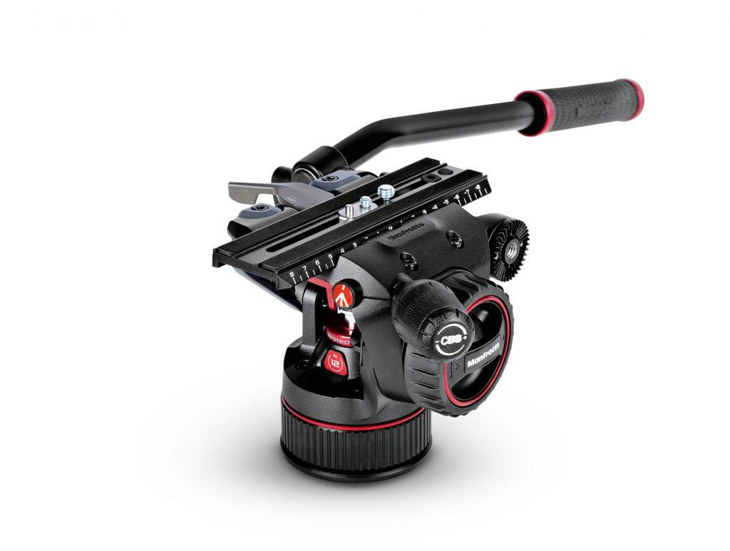 ヴァイテックイメージング、マンフロット「ナイトロテックN12フルードビデオ雲台」を発売