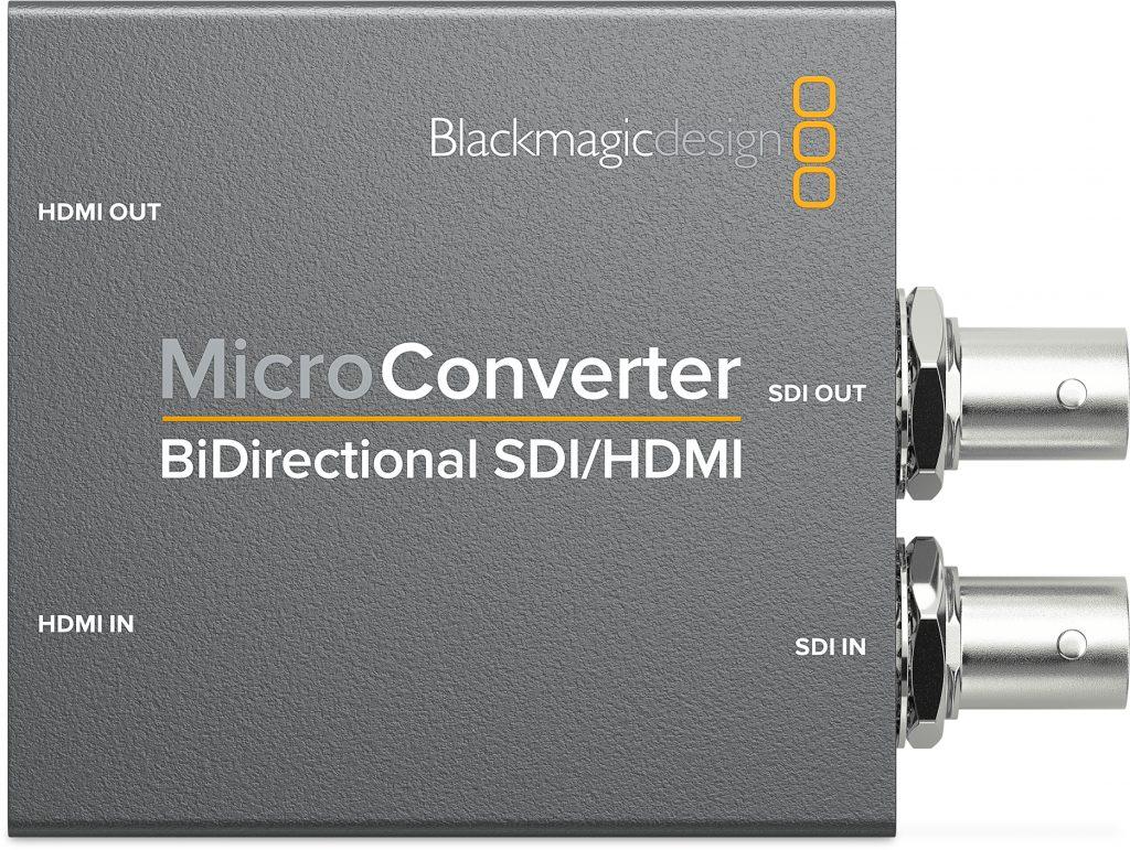 ブラックマジックデザイン、NAB2018にて新製品コンバーター「Micro Converter BiDirectional SDI/HDMI」などを発表