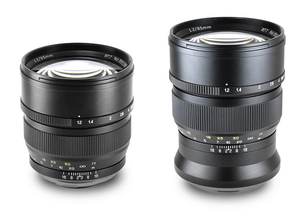 焦点工房、中一光学 単焦点レンズ SPEEDMASTER 85mm F1.2のソニーAマウント、富士フイルムGマウントを発売