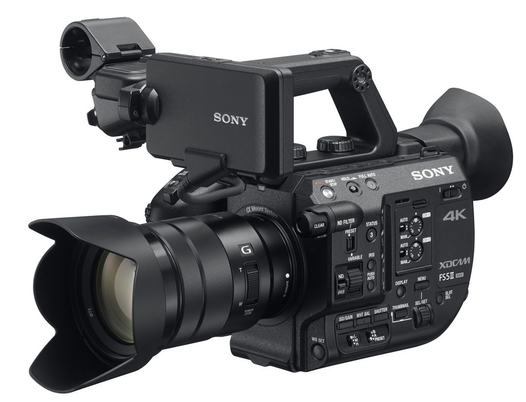ソニー、FS5 Ⅱ「PXW-FS5M2」を発表。オプションを含んでもFS5より低価格に。人物描写を重視したルックを採用。