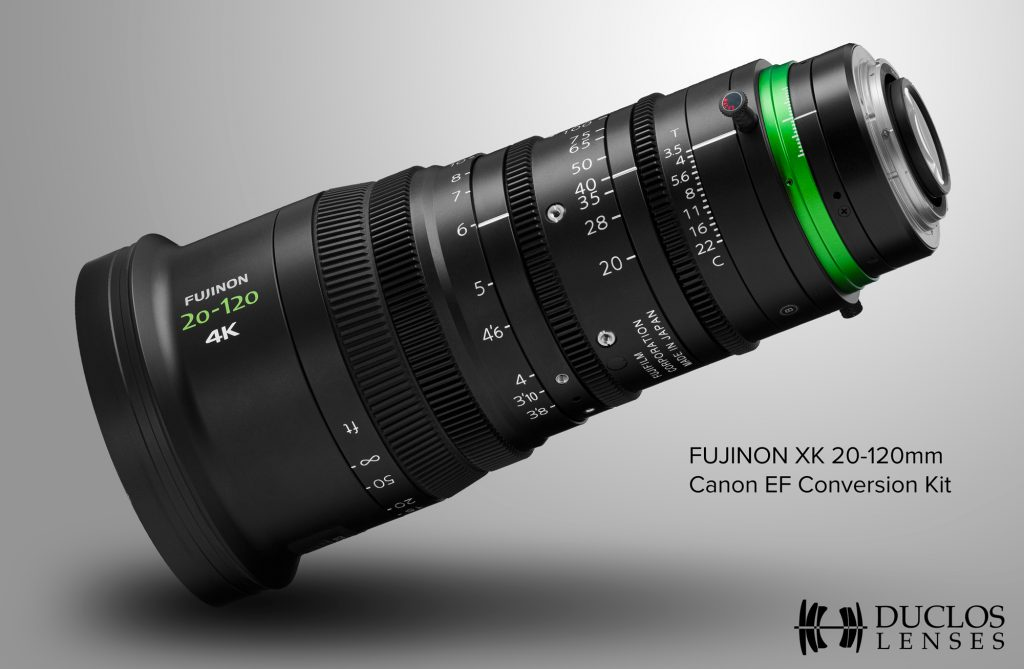 銀一、Duclos Lenses製「Canon EF Mount Kit for Fujinon XK」を発売