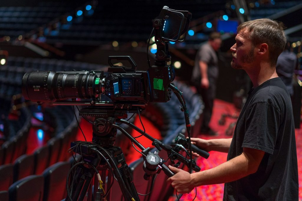 Moai FilmsおよびLos Nativs、シルク・ドゥ・ソレイユの MystèreをURSA Broadcast、Camera/Studio Fiber Converter、 ATEM 4 M/E Broadcast Studio 4Kを使用して撮影