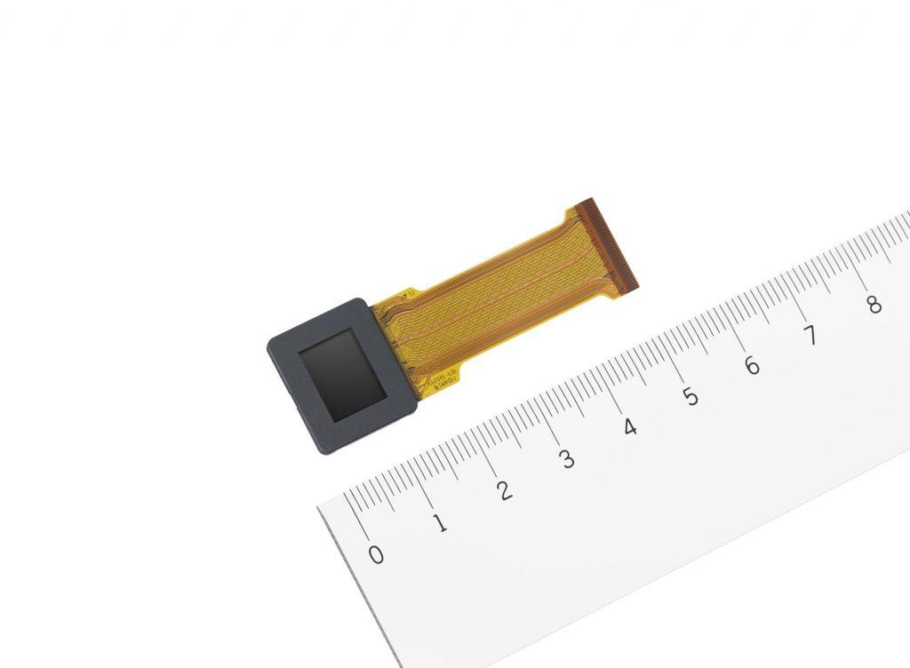 ソニー、0.5型として最高解像度のUXGA有機ELマイクロディスプレイ『ECX339A』 を商品化 世界最小画素ピッチ6.3μmを実現