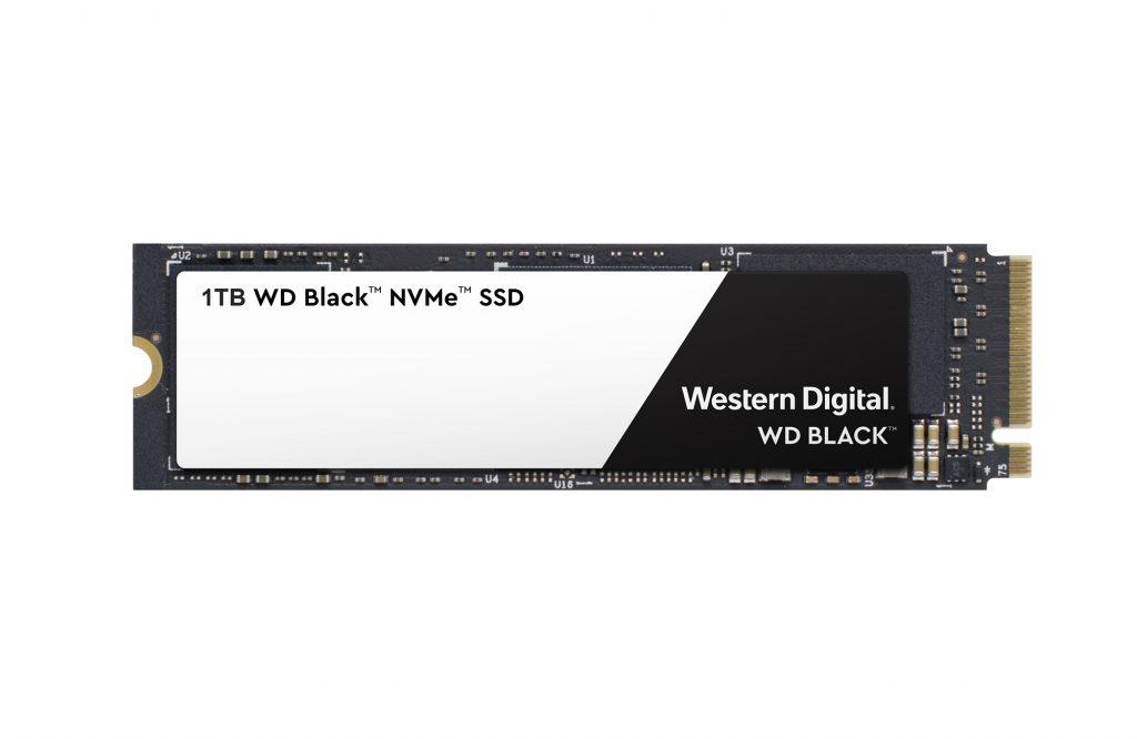 ウエスタンデジタル、NVMe規格のPCゲームシステム向け高性能SSD「Western Digital Black 3D NVMe SSD」を発表 読み取り最大3,400MB/秒、書き込み最大2,800MB/秒の超高速性能