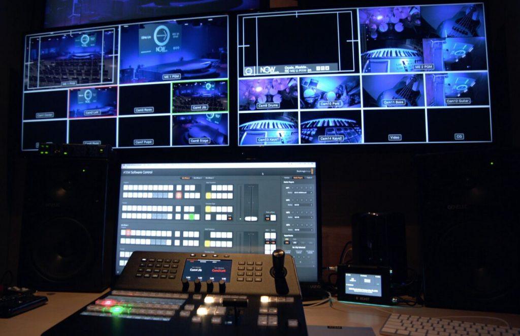 NOW Church、URSA BroadcastとATEM 4 M/E Broadcast Studio 4Kを導入
