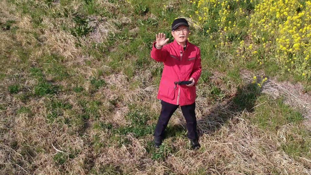 【Views】『菜の花を撮る』3分33秒~ドローンとビデオカメラ2つの視点でメイキング撮影