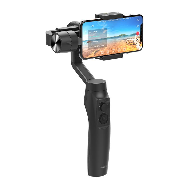 リンクスインターナショナル、ワイヤレス充電対応スマートフォン用ジンバル「MOZA Mini-MI」を発売