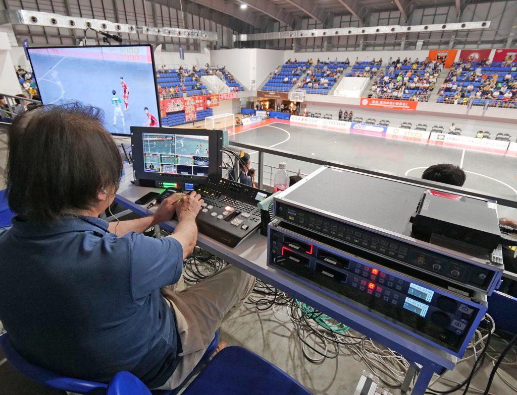 ATEM Television Studio 4Kを導入してフットサルリーグ戦を4K/60pマルチカメラ収録