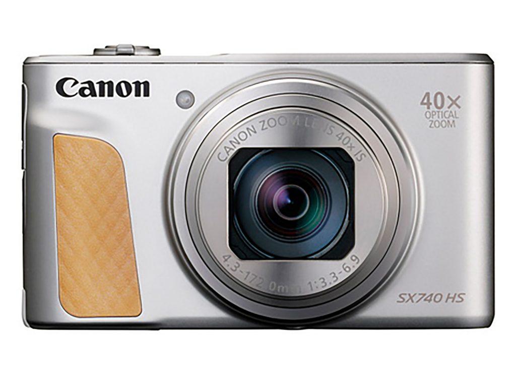 キヤノン、新映像エンジンDIGIC 8を搭載し4K動画が可能なコンパクトデジタルカメラ「PowerShot SX740 HS」を8月30日に発売