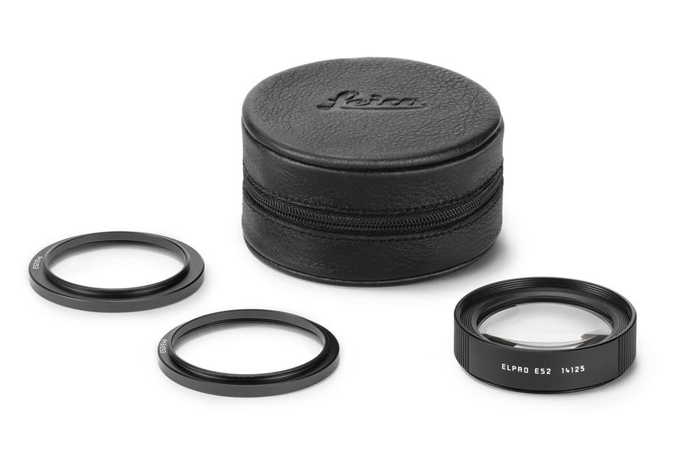 ライカ、高画質なマクロ撮影を可能にする、ライカMレンズおよびTLレンズ用のクローズアップレンズ「ライカ エルプロ52」を発売