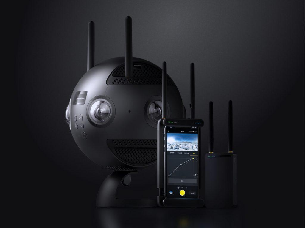 Arashi Vision、最大8K/60pの2DVR撮影に対応し、地上では最大300mの遠隔映像伝送に対応するInsta360 Pro 2を発表