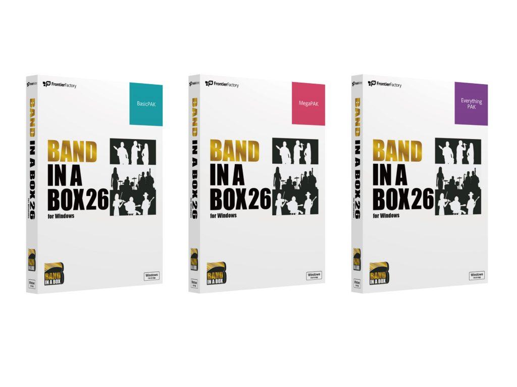 フロンティアファクトリー、カナダPG Music Inc.社の自動作曲アプリ「Band-in-a-Box 26 for Windows」を発売