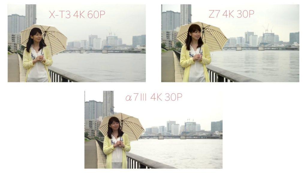 【10月号記事連動・動画レビュー】ニコンZ 7 vs ソニーα7 Ⅲ vs 富士フイルムX-T3 動画チェック