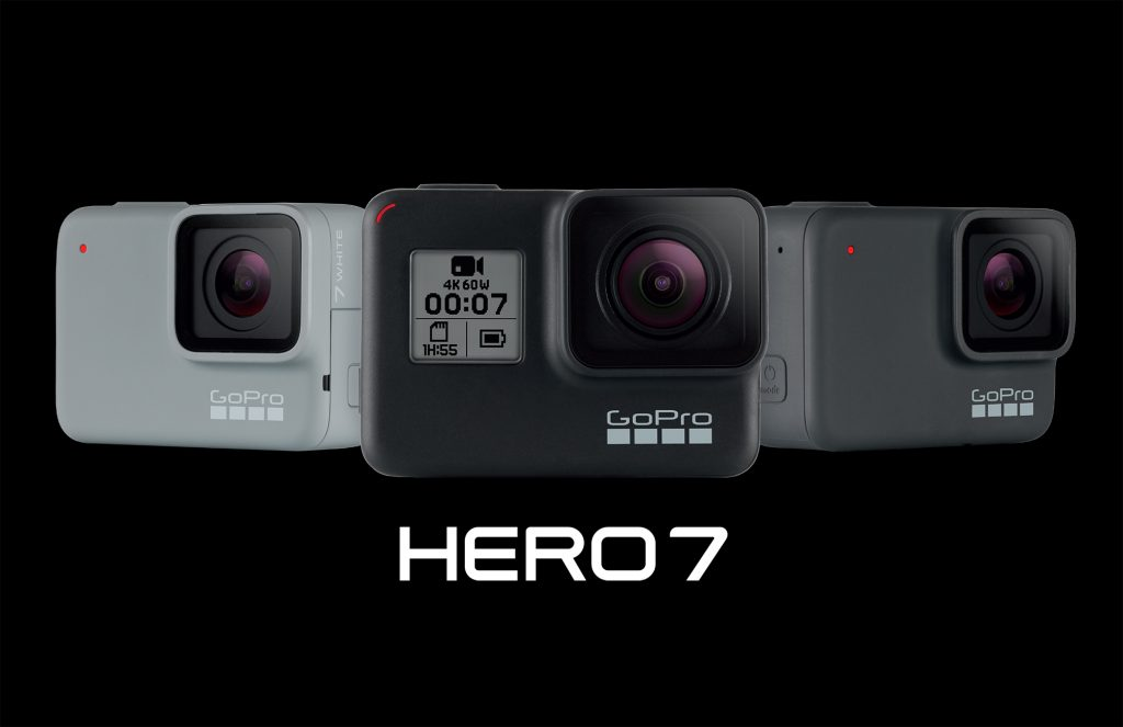 GoPro、4K/60p・1080/240p撮影対応の「HERO7 Black 」を発表。手ブレ補正も大幅に強化