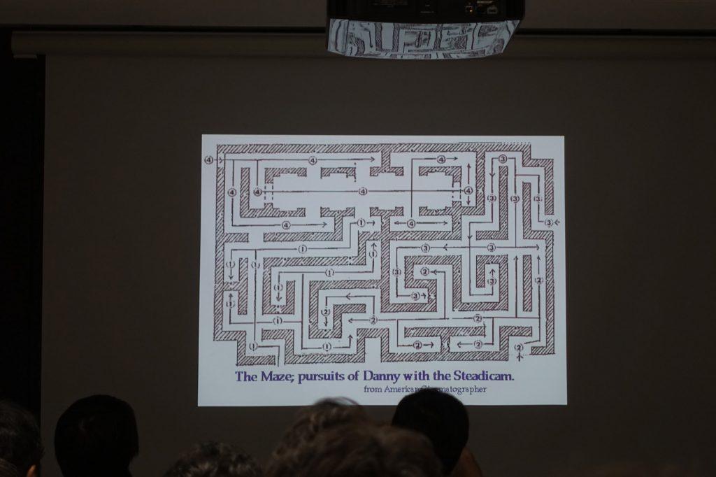 「シャイニング」のダニーを追っかける迷路〜ギャレット・ブラウン講演会