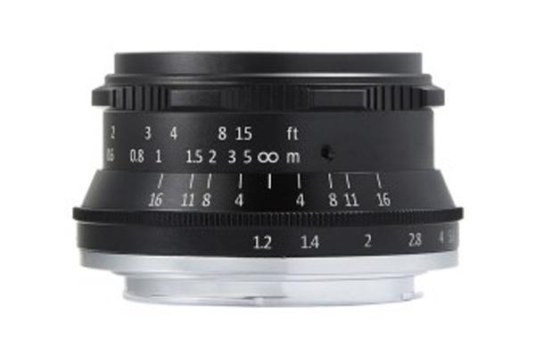 焦点工房、七工匠の単焦点レンズ35mmF1.2を10月10日に発売