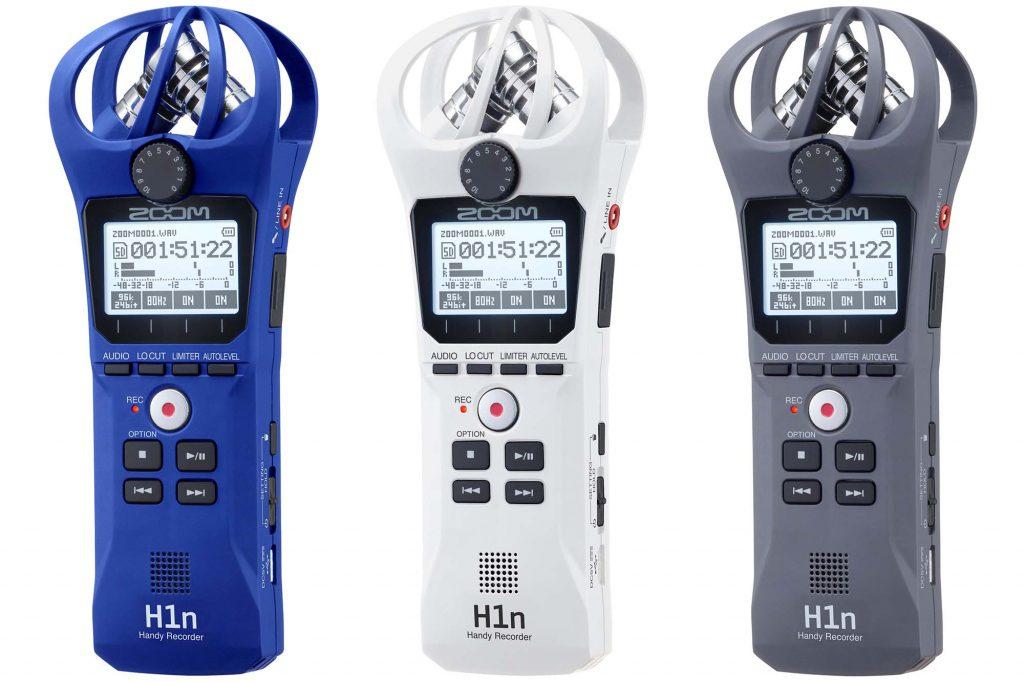 ズーム、ハンディレコーダー「H1n」のカラーバリエーションモデルを発売