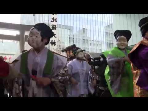 【Views】『虎の門金刀比羅宮 七福神行列』7分9秒~東京のど真ん中で金刀比羅さんにお参り