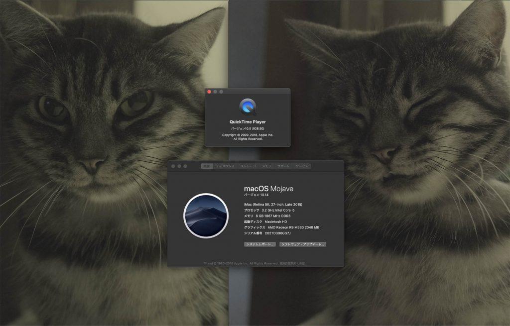 X-T3のH.265とH.264のMac OS上の再生問題、解決しました