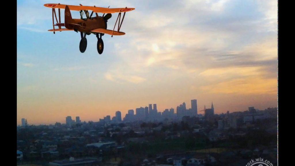 『たのしいひこうき』第6回/九三式中間練習機赤とんぼ「新宿の空」