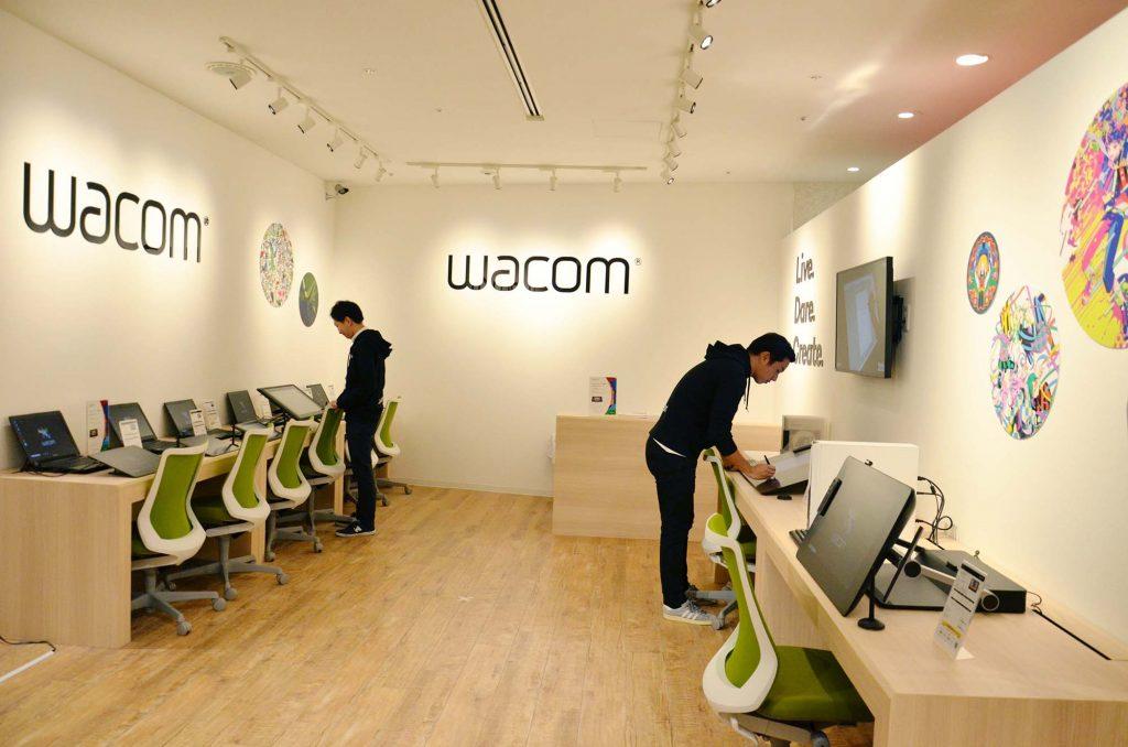 ワコム、初の直営店「ワコムブランドストア新宿」を新宿マルイアネックス3階にオープン