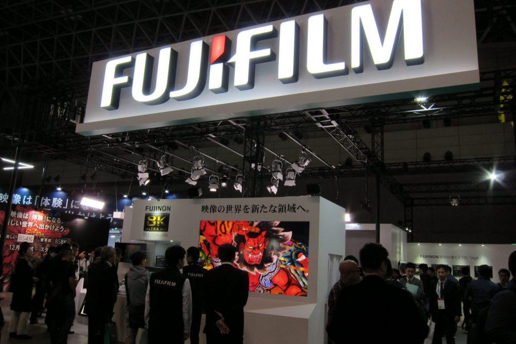 【Inter BEE 2018】富士フイルム~8K映像時代に向けFUJINONレンズ磐石の構え、4Kミラーレスにも人気が集まる