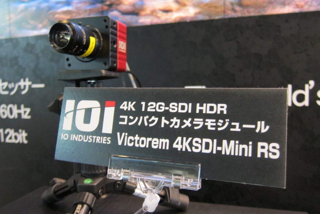 【Inter BEE 2018】テクノハウス~カナダ IO INDUSTRIESからマルチフレームレート&マルチピクチャーサイズの小型カメラが上陸