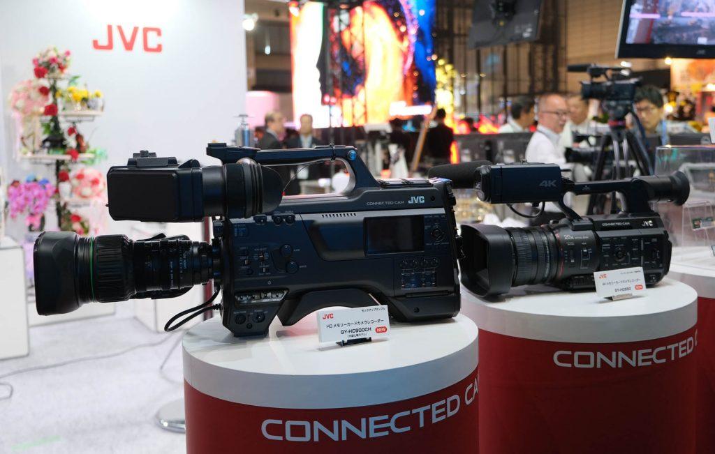 【Inter BEE 2018】JVC、CONNECTED CAM路線でカメラ含めたシステムをアピール