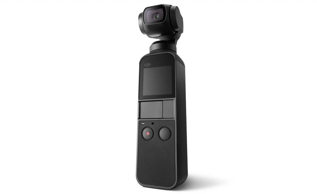 DJI、超小型 3 軸ジンバルカメラ OSMO POCKET を発売