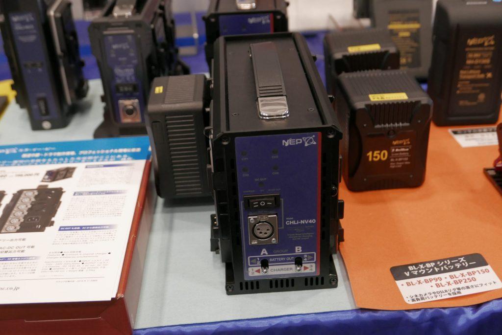 【InterBEE2018】NEPはSmallRig製品をはじめ、電源変圧を組み込んだ一眼用カプラー、ローランドV-02HDのバッテリーアダプターなど